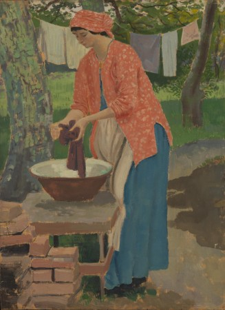 Augustus John - Washing day