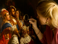 Conservation of a painting